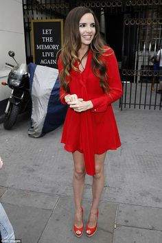 Nadine Coyle doesn't miss Girls Aloud but wishes Cheryl Cole well #dailymail