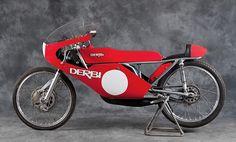 1973 Derbi Angel Nieto Replica. Gorgeous, streamlined simplicity.