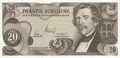 20 Schilling 1967 (v. Ghega), Österreich