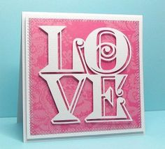 love cube card--free cut file