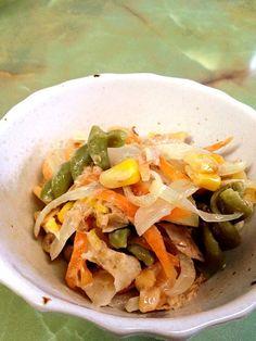 しらだしと鰹節、ちょっとマヨネーズ。 - 8件のもぐもぐ - 和風マカロニサラダ by kikuri