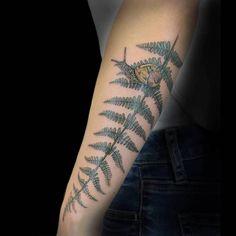 Fern Tattoo by calebknobel