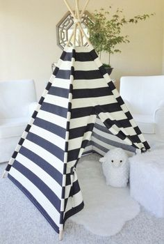 striped tent in black and white buy modern ideas to university interior design