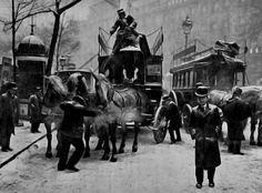 Paris winter - 1910