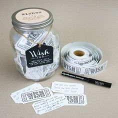 wish jar by jonny's sister | notonthehighstreet.com