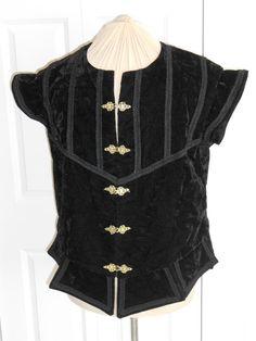 Nuovo Rinascimento Tudor medievale nera nobile di DesignEvent