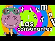 Canción de las consonantes - Canciones Infantiles - YouTube Kids Songs, Phonics, The Creator, Youtube, Alphabet, Spanish, Family Guy, Classroom, Fictional Characters