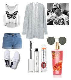 """""""dia con Ross lynch"""" by dahianne-g ❤ liked on Polyvore featuring beauty, Pieces, Rebecca Taylor, Keds, Ray-Ban, shu uemura and Bobbi Brown Cosmetics"""