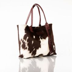Leather Cowhide Handbags by TRIBUTOHANDBAGS on Etsy
