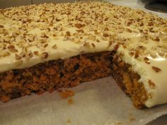 porkkanapiirakka Food And Drink, Tart, Pudding, Yummy Food, Sweets, Bread, Snacks, Cookies, Ethnic Recipes