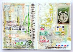 beyond time by mumkaa_, via Flickr    A great set of journal pages from a wonderfull artist.