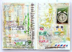 Beautiful art journal by Mumkaa
