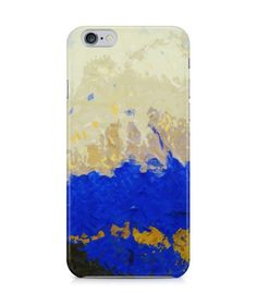 Blue and Beige Abstract Picture 3D Iphone Case for Iphone 3G/4/4g/4s/5/5s/6/6s/6s Plus - ARTXTR0219 - FavCases