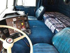 Big Rig Trucks, Semi Trucks, Old Trucks, Diesel Fashion, Cab Over, Truck Interior, Vintage Tractors, Peterbilt Trucks, Classic Trucks
