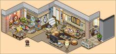 Modern Living Room Appartement by Cutiezor.deviantart.com on @DeviantArt