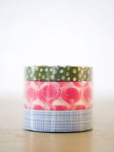 lotta jansdotter washi tape, blue set