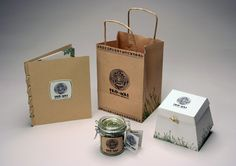 Teo-Mas Restaurant Packaging by Jared Koenigshofer, via Behance