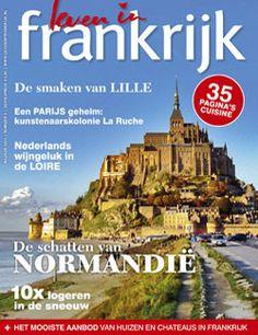 Proefabonnement: 5x Leven in Frankrijk 20,-: In het blad Leven in Frankrijk lees je alles over droomhuizen in Frankrijk, verzameld door liefhebbers van het savoir-vivre.