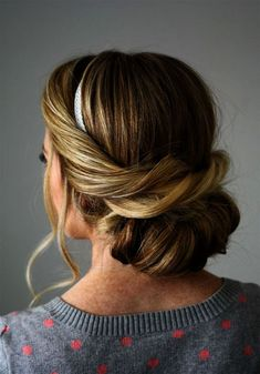 Hair Extensions For Prom with Haircut Near Me Coupons via Hair Loss Shampoo any … - Modern Side Hairstyles, Best Wedding Hairstyles, Holiday Hairstyles, Headband Hairstyles, Trendy Hairstyles, Updo With Headband, Headbands For Short Hair, Headband Tuck, Beauty Hacks That Actually Work