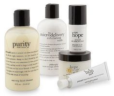 I am in LOVE with anything Philosophy. Hands down the best beauty/skincare products ever!