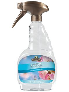 Revive Wrinkle Relaxer from Melaleuca I hate to iron and this works so well! My FAVORITE product by Melaleuca hands down! Melaluca Products, Melaleuca The Wellness Company, Wrinkle Release, Relaxer, Good Skin, Cleaning Hacks, Health And Wellness, The Cure, Natural