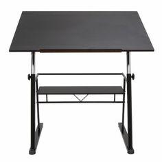 Studio Designs 13340 Zenith Drafting Table / Black