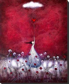 Helping my heart expand..words; mine...artist; Amanda Cass