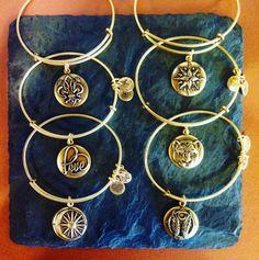 Symbolic Bracelets, Necklaces & Other Jewelry Alex And Ani Bangles, Bangle Bracelets With Charms, Bracelet Watch, Pandora Bangle, New Pandora, Nail Jewelry, Jewelry Box, Bracelets With Meaning, Diamond Are A Girls Best Friend
