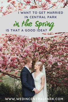 Get Married in Central Park in the Spring - New York Springtime Destination Wedding or Elopement Wedding Advice, Wedding Planning Tips, Wedding Prep, Wedding Ideas, Wedding Decor, Wedding Photos, Top Wedding Trends, Wedding Styles, Wedding Locations