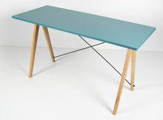 Biurko Slim MINKO www.euforma.pl #desk #home #homeoffice #office #room #design