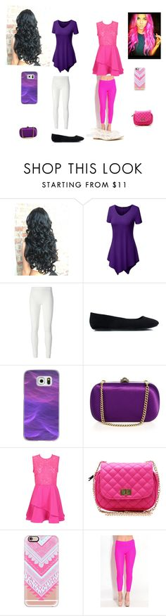"""Aphmau and kawaii~chan"" by jaysiry20 ❤ liked on Polyvore featuring Rick Owens Lilies, Casetify, Gucci and Soludos"