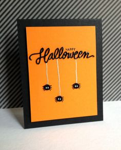Matricule de assez d'portrait dichotomique 10 The post Simon Says Clear Stamps TRICK OR TREAT appeared first on Upload Box. Halloween Tags, Fröhliches Halloween, Halloween Paper Crafts, Halloween Scrapbook, Homemade Halloween, Cricut Halloween Cards, Pumpkin Cards, Xmax, Cricut Cards