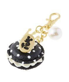 Cute Mickey Mouse Polka Dot Macaroon Bag Charm   #rinkya #japan #disney #qpot #mickeymouse