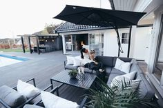 Outdoor Living, Outdoor Decor, Kos, Home Decor, Outdoor Life, Homemade Home Decor, Interior Design, Home Interiors, Decoration Home