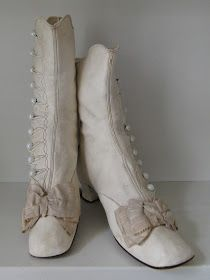 Victorian Times: Antique Wedding Boots