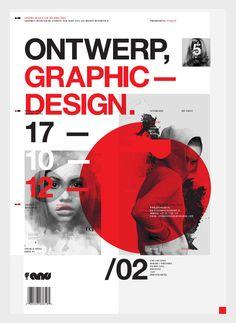Graphic_ Poster_ Plakaat 2012 by Anthony Neil Dart, via Behance Creative Poster Design, Creative Posters, Graphic Design Posters, Graphic Design Typography, Graphisches Design, Logo Design, Cover Design, Layout Design, Print Design