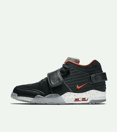 Nike Air Trainer Victor Cruz Premium Mens Size 9.5 Black Crimson BNIB 100% Auth