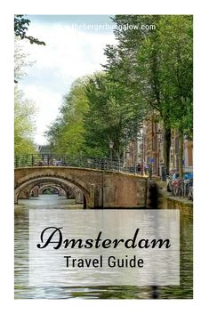 Any plans of visiting Amsterdam soon? This beautiful and relaxing place is a common destination for most tourists. Enjoy exploring the city while riding on a bike. Relax and have some coffee in the hundreds of coffee shops around. Eat delicious chocolates and great tasting cheeses. Click link for our amazing Amsterdam Travel Guide http://www.thebergerbungalow.com/2017/09/amsterdam-travel-guide.html