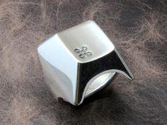 Keyboard Ring - Stainless Steel
