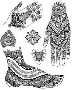 Welcome to Dover Publications  Mehndi Designs