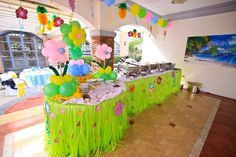 lilo+and+stitch+birthday+party+theme | Lilo and Stitch Luau Party Birthday Party Ideas | Photo 28 of 28 ...