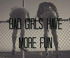 heehee not bad girls but close... ;) @Abbi Oakley Long