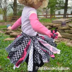 Adorably Fabulous Cotton Tutu  by PotatoBlossomStudio