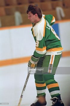Brian Lawton of the Minnesota North Stars skates against the Toronto Maple Leafs during NHL game action on December 1986 at Maple Leaf Gardens in Toronto, Ontario, Canada. Minnesota North Stars, Minnesota Wild, Hockey Teams, Hockey Players, Feeling Minnesota, Wild North, Toronto Ontario Canada, Nhl Games, National Hockey League
