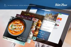 The Beach House Restaurant Social Media Management #Digital #o8 #Origin8Concepts #Branding