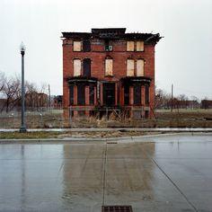 abandoned house Detroit
