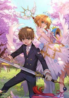 Cardcaptor Sakura This one good a Cardcaptor Sakura, Sakura Card Captor, Sakura Kinomoto, Syaoran, Anime Kawaii, Anime Love, Clear Card, Anime Angel, Asuna