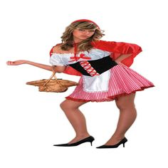 DisfracesMimo, disfraz de caperucita roja para mujer talla m/l.Compra tu disfraz barato y te convertirás en la protagonista del tradicional y famoso cuento infantil y deslumbrarás en fiestas temáticas de disfraces.Este disfraz es ideal para tus fiestas temáticas de disfraces cuentos populares,famosos y musicos para mujer adultos.