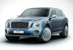 Bentley SUV...just because they can