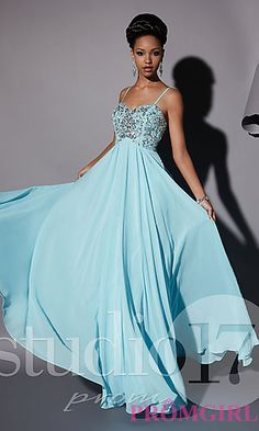 Full Length Sweetheart Evening Gown at PromGirl.com